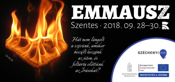 Emmausz kurzus logó